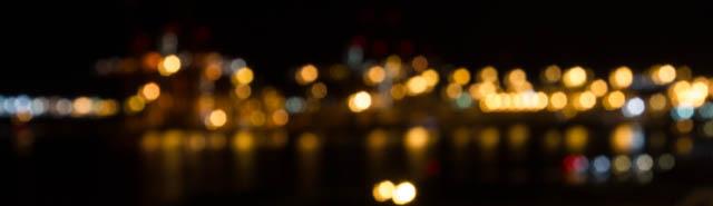Lichter des Hafens von Vancouver