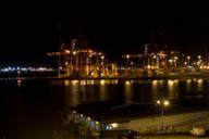 Kräne am Hafen von Vancouver